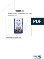 Aquapanel Exterior Basecoat
