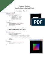 OPENGL lab manual