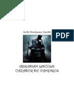 Abraham Lincoln, Cazador de vampiros  - Seth Grahame Smith.pdf