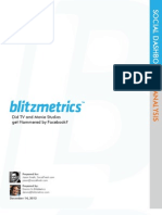 Hollywood Facebook Report by BlitzMetrics