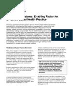 Evidence-based health practice