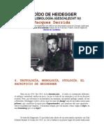 El oído de Heidegger
