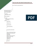 Aps and Jwt  Lab Manual