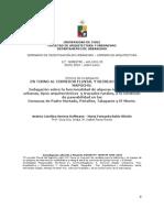 PASEABILIDAD EN TORNO AL CORREDOR FLUVIAL Y RECREACIONAL DEL MAPOCHO