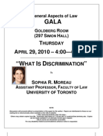 Sophia Moreau- What is Discrimination
