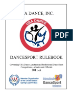 2011 DanceSport Rulebook