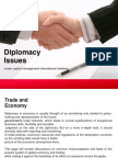Diplomacy Issues