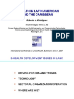E-Health in Latin America & Caribbean