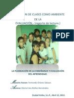 EL SALÓN DE CLASES COMO AMBIENTE DE LA