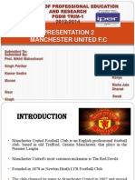 Manchestor United as dominent Team