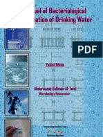 Bacteriological examination of Drinking Water(English Edition)
