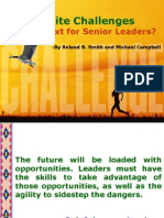 C-Suite Challenges For senior leaders