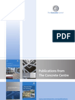 Publications from the concrete centre
