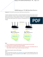WDS ON TP LINK ROUTERS