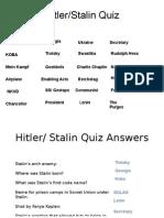 Hitler Stalin Quiz2