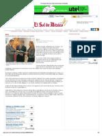 01-02-13 El Sol de México - Promueve Moreno Valle inversiones en España