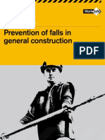 Prevention of falls in general construction