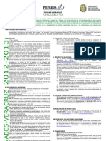 convocatoria 2012-20132