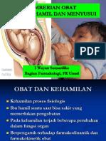 Obat Pd Bumil n Menyusui 2009