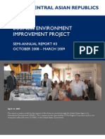BUSINESS ENVIRONMENT IMPROVEMENT PROJECT