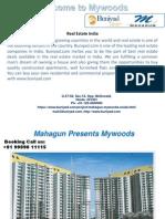 Mahagun Mywoods Price List | Booking  99990 11115