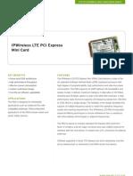 LTE PCI Express Mini Card
