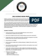 Science-Book-Prize