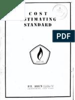 Cost Estimation Standard