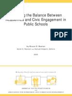 Restoring the Balance Report
