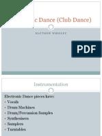 Club Dance Presentation