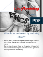 ethics in marketing`