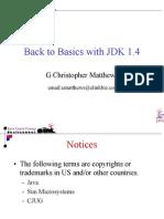 Back to Basics and JDK 1.4
