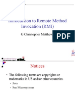 Introduction to Remote Method Invocation (RMI)