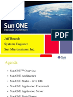 Introduction to SunOne