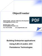 Object Frontier Presentation