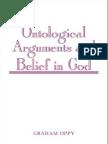 Ontological arguments for belief in God