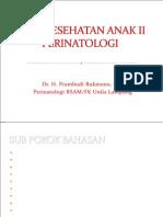 1. Pengantar perinatologi