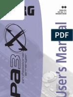 PA3x User manual
