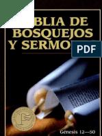 Biblia de Bosquejos y Sermones -Tomo 1 (Gn.12 ; 50)