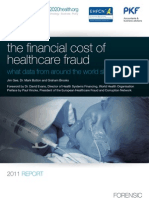 The financial cost of healthcare fraud