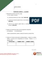 Ejercicios Unidad 3 - Alcanos