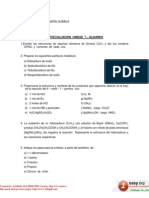Ejercicios Unidad 6 - Alquinos