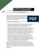 Articulo - Un Modelo Integrado Desarrollo Organizacional