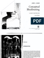 Conceptual Blockbusting- A guide to better ideas