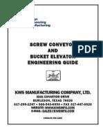 Screw Conveyors and Bucket Elevator Engineering Guide