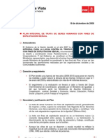 Puntos de Vista 18-12-2008 (Plan Integral de Trata de Seres Humanos Con Fines de Explotacion Sexual)[1]