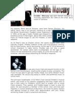 Freddies Biography