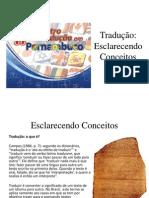 Tradução-Esclarecendo Conceitos por Wander Amorim