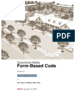Final Draft of Town of Malta Form Based Code
