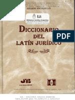 Nicoliello, Nelson - Diccionario del Latín Jurídico